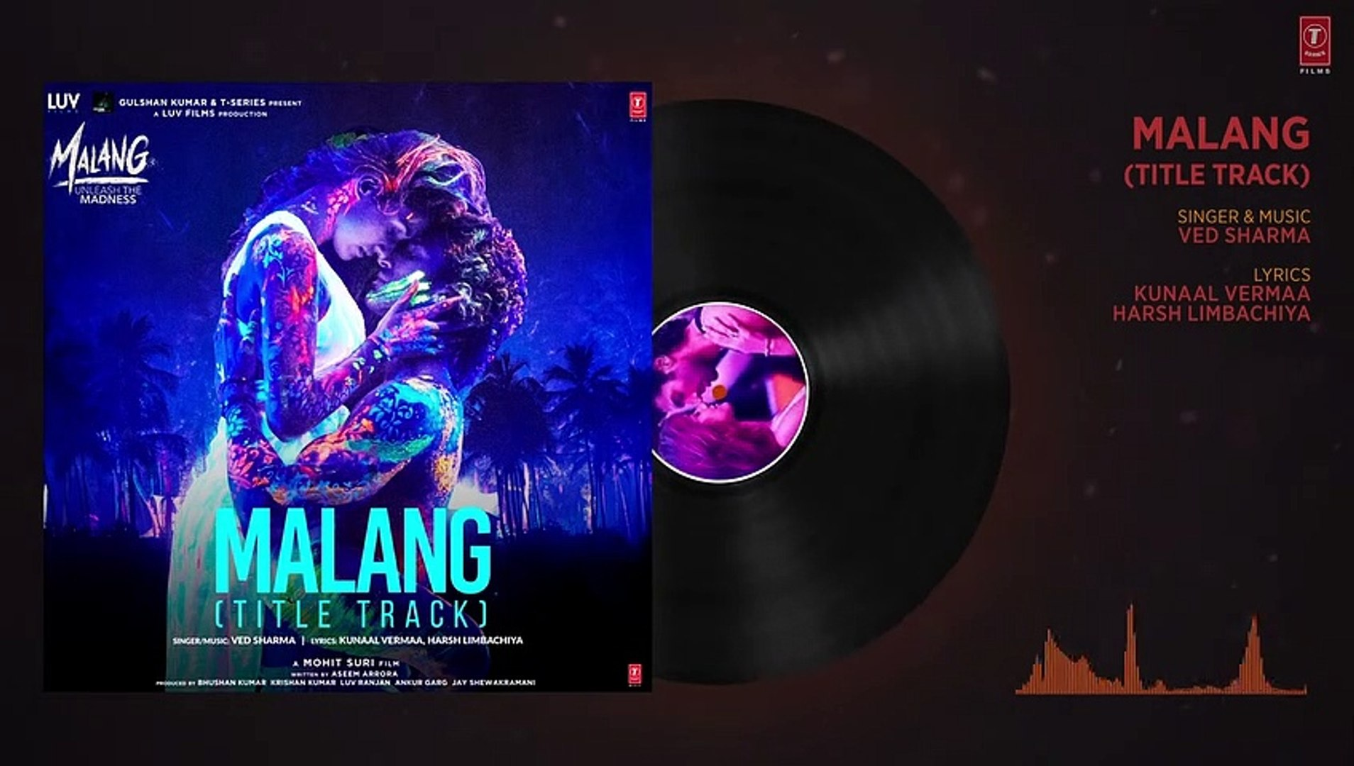 Malang Title Track Audio Aditya Roy Kapur Disha Patani Anil K Kunal K Ved Sharma Mohit S Video Dailymotion