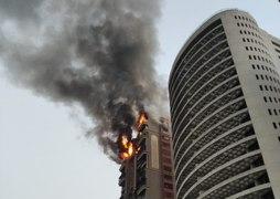 Navi Mumbai fire at Nerul Seafoods apartment