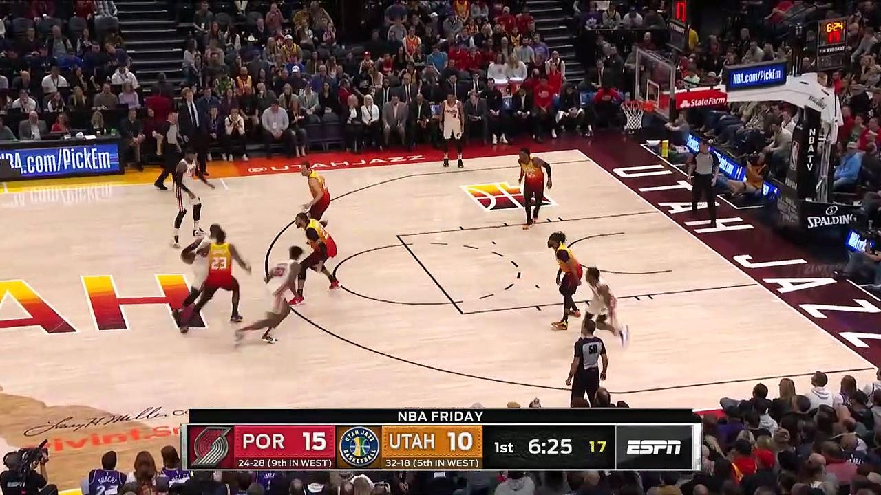 Portland Trail Blazers 114 - 117 Utah Jazz