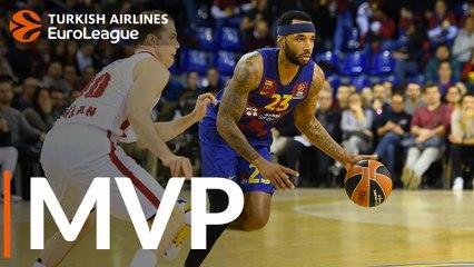 Round 24 MVP: Malcolm Delaney, FC Barcelona