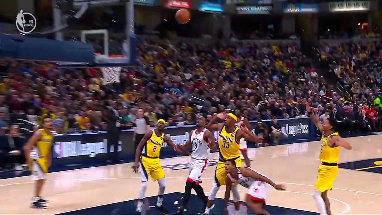 Toronto Raptors 115 - 106 Indiana Pacers