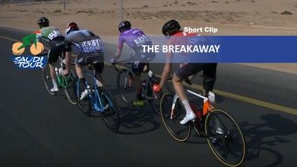 Saudi Tour 2020 - Étape 5 / Stage 5 - The breakaway