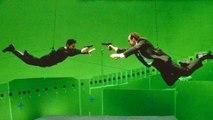 Sur le tournage de Matrix