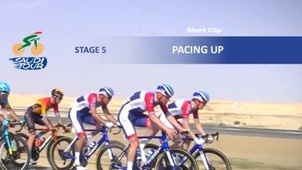 Saudi Tour 2020 - Étape 5 / Stage 5 - Pacing up