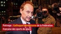 Patinage : Gailhaguet démissionne de la Fédération française des sports de glace