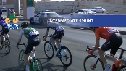 Saudi Tour 2020 - Étape 5 / Stage 5 - Intermediate sprint
