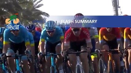 Saudi Tour 2020 - Étape 5 / Stage 5 - Flash summary