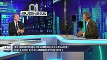 Les entreprises du numérique en France: quels sont les chantiers pour 2020 ? - 08/02