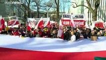 Pologne : manifestation en faveur de la réforme de la justice critiquée par Bruxelles