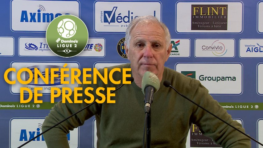 Conférence de presse FC Chambly - Paris FC (1-2) : Bruno LUZI (FCCO) - René GIRARD (PFC) - 2019/2020