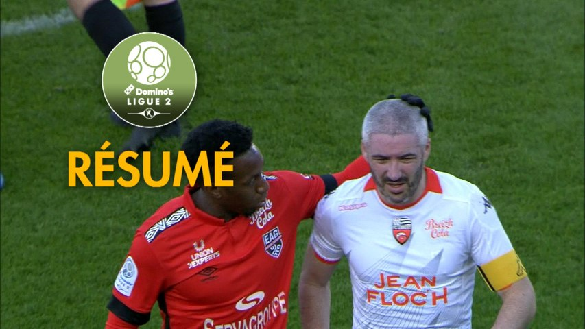 EA Guingamp - FC Lorient (2-1)  - Résumé - (EAG-FCL) / 2019-20