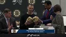 Bruins Captain Zdeno Chara Honored For 1,500th Career Game