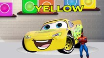 BEA Toy Kids - Disney Cars Mcqueen Learn Colors with Magic Paint and Superhero Balls to Learning Color for Children