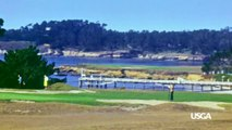 The First Color Footage of Pebble Beach Golf Links!