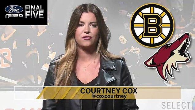 Ford Final Five:  Bruins Hot Streak Continues
