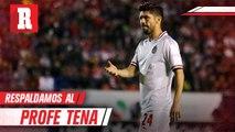 Oribe Peralta: 'El equipo respalda a Tena al 100 por ciento'