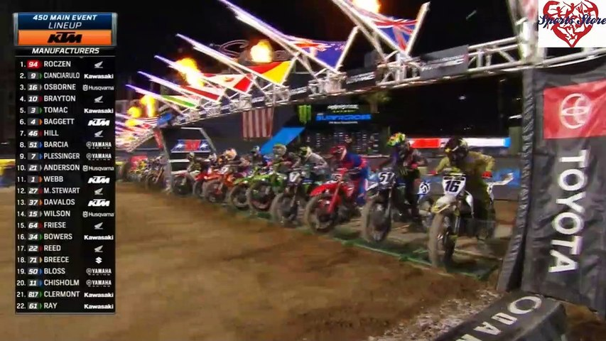 450 SX Main Event San Diego AMA Supercross 2020