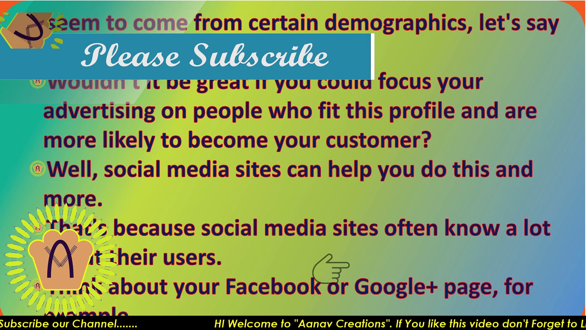 Advertising on social media In Digital Marketing | Social Media advertise Kare |  @Aanav Creations