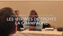 L'ACCB commerce de Troyes devient Les vitrines de Troyes la Champagne