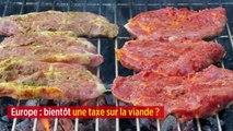 Europe : bientôt une taxe sur la viande ?