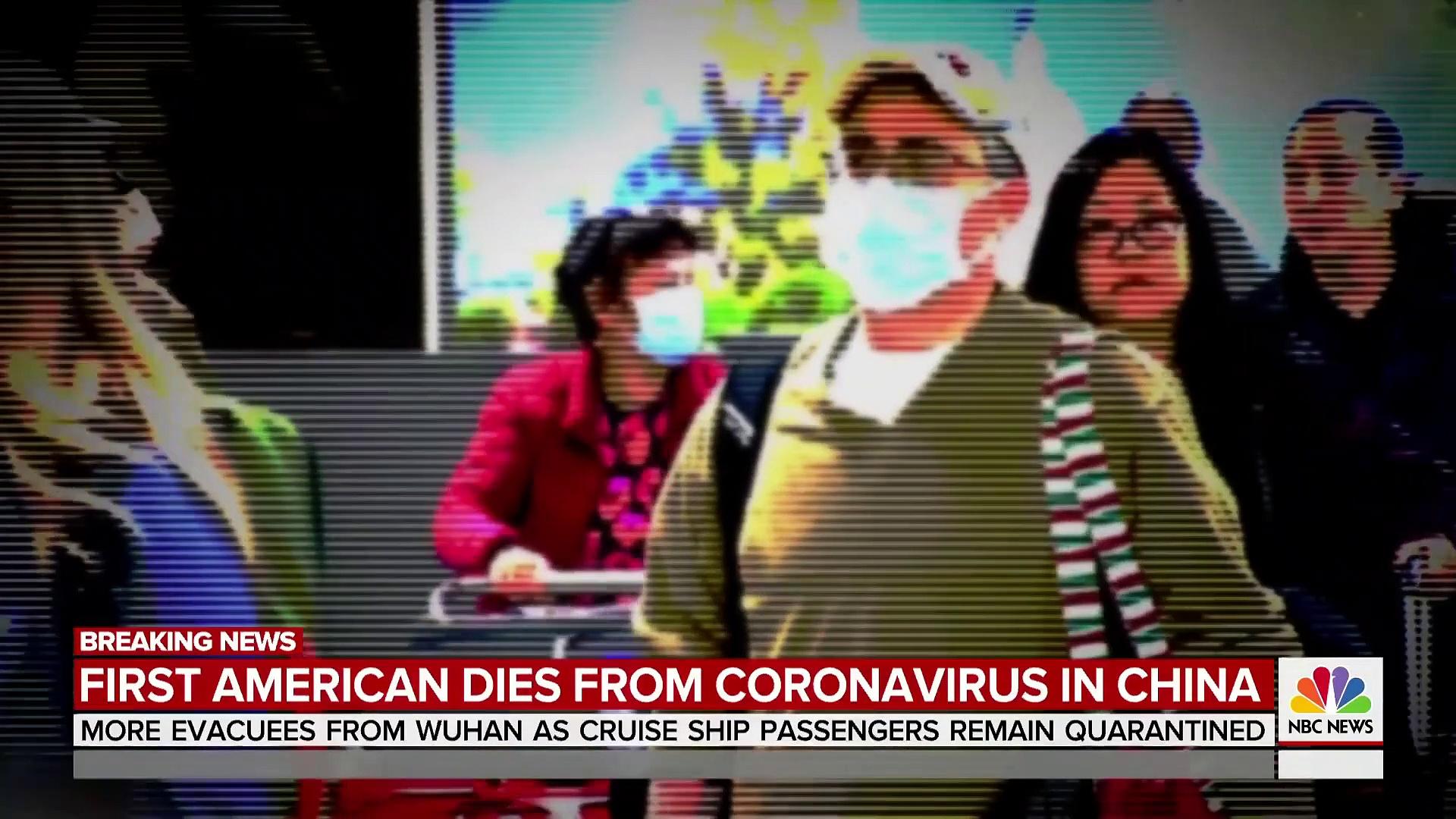 1st American Dies Of Coronavirus In China  TODAY