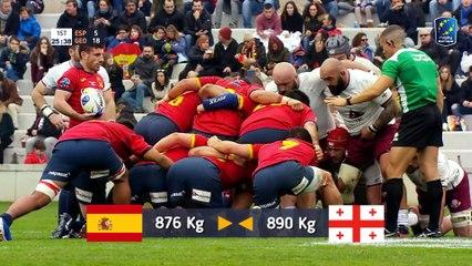 REPLAY SPAIN / GEORGIA - RUGBY EUROPE CHAMPIONSHIP 2020