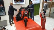 hero electric ae-47 ,  hero electric auto expo 2020 ,  electric motorcycle ,  revolt electric bike