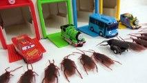 Thomas, Disney Cars, Tayo, Stag, Spider