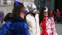 Venice Carnival starts amid 'coronavirus and high tide fears'