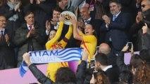 El Barcelona gana la primera Súpercopa del fútbol femenino español