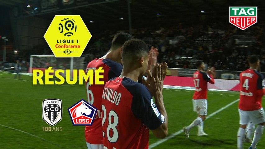 Angers SCO - LOSC (0-2)  - Résumé - (SCO-LOSC) / 2019-20
