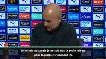 """26e j. - Guardiola : """"Je ne suis pas la seule raison qui fait venir les joueurs à City"""""""