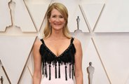 Laura Dern's birthday gift at Oscars