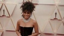 Zazie Beetz Oscars 2020 Red Carpet Arrival