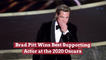 Brad Pitt Takes Home Best Supporting Actor