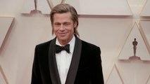 Brad Pitt Oscars 2020 Red Carpet Arrival