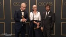 'American Factory' Team Discusses Best Documentary Win Backstage at 2020 Oscars