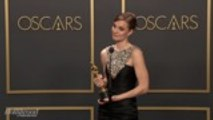 Hildur Gudnadóttir Discusses Best Original Score Win for 'Joker' Backstage at Oscars 2020