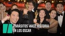 'Parásitos' hace historia en los Oscar