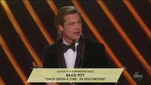 Brad Pitt Slams GOP, Senate at Oscars
