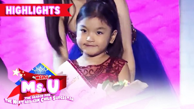 Alessandra Espina wins as Mini Miss U of the day | It's Showtime Mini Miss U