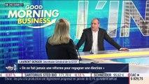 """Laurent Berger (CFDT): """"On ne fait jamais une réforme pour gagner une élection"""" - 10/02"""