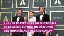 Oscars 2020 : Brad Pitt dédie son trophée à ses enfants dans un discours très émouvant
