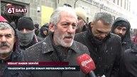 Trabzon'da dolmuş esnafı referandum istiyor