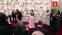 Hollywood stars on the Oscars red carpet