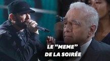 Le concert d'Eminem aux Oscars en a surpris plus d'un, Scorsese le premier
