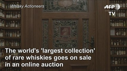 World's most expensive whiskies go up for sale, including a Sh191.3mn bottle