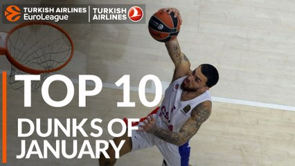 Top 10 Dunks of January!