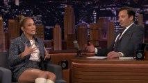 Jennifer López rompe a llorar al hablar de su show con Shakira en el Super Bowl