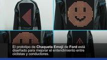 Ford chaqueta Emoji para ciclistas. Video Motor Pro